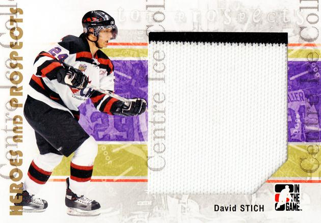 2007-08 ITG Heroes and Prospects #134 David Stich<br/>3 In Stock - $5.00 each - <a href=https://centericecollectibles.foxycart.com/cart?name=2007-08%20ITG%20Heroes%20and%20Prospects%20%23134%20David%20Stich...&price=$5.00&code=282920 class=foxycart> Buy it now! </a>