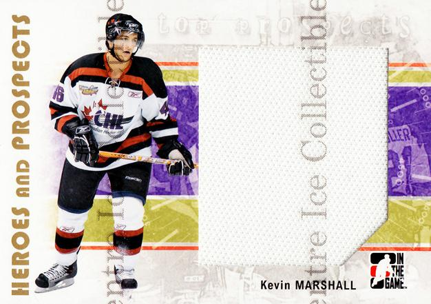 2007-08 ITG Heroes and Prospects #136 Kevin Marshall<br/>3 In Stock - $5.00 each - <a href=https://centericecollectibles.foxycart.com/cart?name=2007-08%20ITG%20Heroes%20and%20Prospects%20%23136%20Kevin%20Marshall...&price=$5.00&code=282922 class=foxycart> Buy it now! </a>