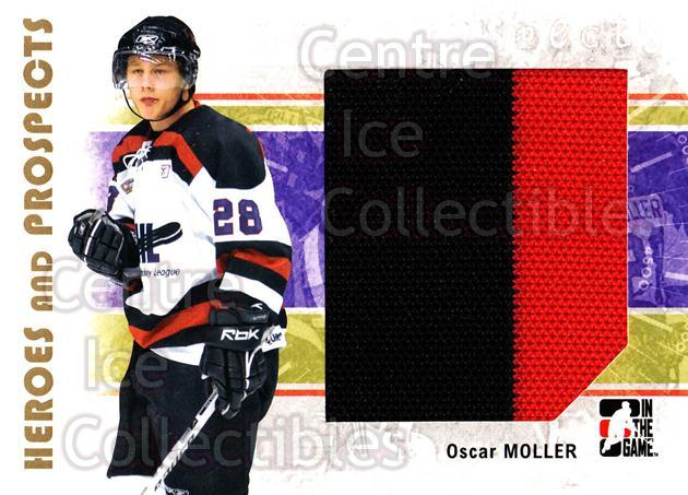 2007-08 ITG Heroes and Prospects #137 Oscar Moller<br/>1 In Stock - $5.00 each - <a href=https://centericecollectibles.foxycart.com/cart?name=2007-08%20ITG%20Heroes%20and%20Prospects%20%23137%20Oscar%20Moller...&price=$5.00&code=282923 class=foxycart> Buy it now! </a>