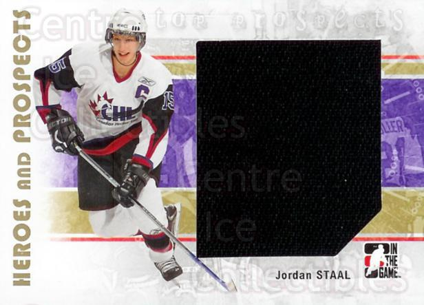 2007-08 ITG Heroes and Prospects #140 Jordan Staal<br/>1 In Stock - $5.00 each - <a href=https://centericecollectibles.foxycart.com/cart?name=2007-08%20ITG%20Heroes%20and%20Prospects%20%23140%20Jordan%20Staal...&price=$5.00&code=282926 class=foxycart> Buy it now! </a>