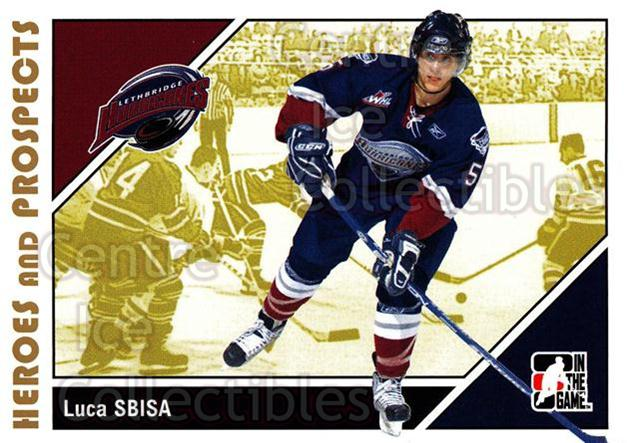 2007-08 ITG Heroes and Prospects #179 Luca Sbisa<br/>19 In Stock - $1.00 each - <a href=https://centericecollectibles.foxycart.com/cart?name=2007-08%20ITG%20Heroes%20and%20Prospects%20%23179%20Luca%20Sbisa...&price=$1.00&code=282929 class=foxycart> Buy it now! </a>