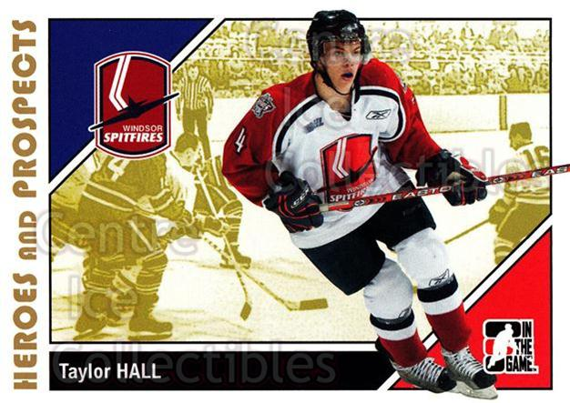2007-08 ITG Heroes and Prospects #187 Taylor Hall<br/>15 In Stock - $5.00 each - <a href=https://centericecollectibles.foxycart.com/cart?name=2007-08%20ITG%20Heroes%20and%20Prospects%20%23187%20Taylor%20Hall...&price=$5.00&code=282932 class=foxycart> Buy it now! </a>