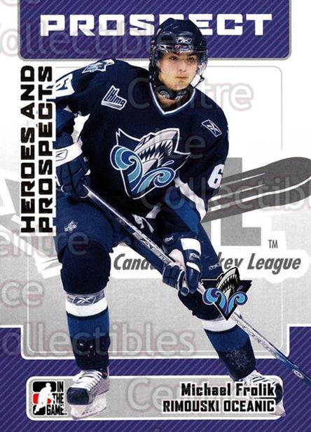 2006-07 ITG Heroes and Prospects #178 Michael Frolik<br/>27 In Stock - $1.00 each - <a href=https://centericecollectibles.foxycart.com/cart?name=2006-07%20ITG%20Heroes%20and%20Prospects%20%23178%20Michael%20Frolik...&quantity_max=27&price=$1.00&code=282945 class=foxycart> Buy it now! </a>