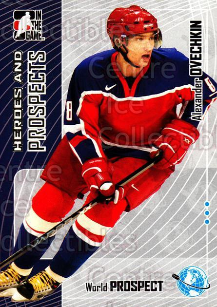 2005-06 ITG Heroes and Prospects #109 Alexander Ovechkin<br/>227 In Stock - $3.00 each - <a href=https://centericecollectibles.foxycart.com/cart?name=2005-06%20ITG%20Heroes%20and%20Prospects%20%23109%20Alexander%20Ovech...&price=$3.00&code=282964 class=foxycart> Buy it now! </a>