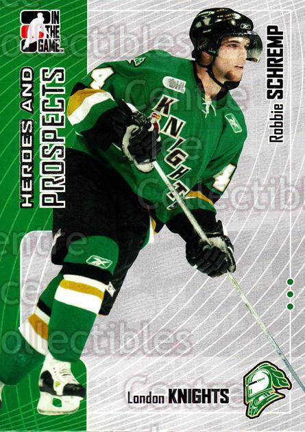 2005-06 ITG Heroes and Prospects #115 Rob Schremp<br/>9 In Stock - $1.00 each - <a href=https://centericecollectibles.foxycart.com/cart?name=2005-06%20ITG%20Heroes%20and%20Prospects%20%23115%20Rob%20Schremp...&price=$1.00&code=282967 class=foxycart> Buy it now! </a>
