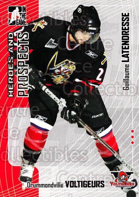 2005-06 ITG Heroes and Prospects #151 Guillaume Latendresse<br/>17 In Stock - $1.00 each - <a href=https://centericecollectibles.foxycart.com/cart?name=2005-06%20ITG%20Heroes%20and%20Prospects%20%23151%20Guillaume%20Laten...&price=$1.00&code=282974 class=foxycart> Buy it now! </a>