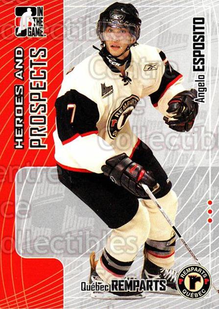 2005-06 ITG Heroes and Prospects #159 Angelo Esposito<br/>16 In Stock - $1.00 each - <a href=https://centericecollectibles.foxycart.com/cart?name=2005-06%20ITG%20Heroes%20and%20Prospects%20%23159%20Angelo%20Esposito...&price=$1.00&code=282976 class=foxycart> Buy it now! </a>