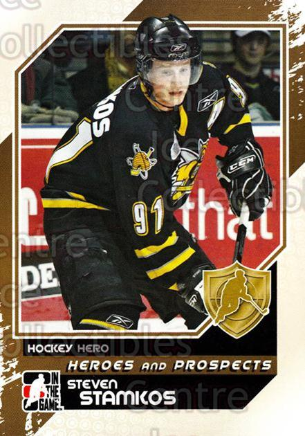 2010-11 ITG Heroes and Prospects #5 Steven Stamkos<br/>50 In Stock - $1.00 each - <a href=https://centericecollectibles.foxycart.com/cart?name=2010-11%20ITG%20Heroes%20and%20Prospects%20%235%20Steven%20Stamkos...&price=$1.00&code=283084 class=foxycart> Buy it now! </a>