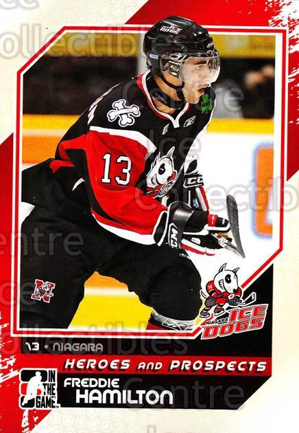 2010-11 ITG Heroes and Prospects #17 Freddie Hamilton<br/>24 In Stock - $1.00 each - <a href=https://centericecollectibles.foxycart.com/cart?name=2010-11%20ITG%20Heroes%20and%20Prospects%20%2317%20Freddie%20Hamilto...&price=$1.00&code=283096 class=foxycart> Buy it now! </a>