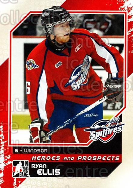 2010-11 ITG Heroes and Prospects #35 Ryan Ellis<br/>22 In Stock - $1.00 each - <a href=https://centericecollectibles.foxycart.com/cart?name=2010-11%20ITG%20Heroes%20and%20Prospects%20%2335%20Ryan%20Ellis...&quantity_max=22&price=$1.00&code=283114 class=foxycart> Buy it now! </a>