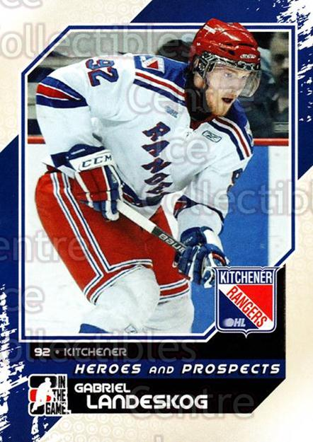 2010-11 ITG Heroes and Prospects #36 Gabriel Landeskog<br/>28 In Stock - $2.00 each - <a href=https://centericecollectibles.foxycart.com/cart?name=2010-11%20ITG%20Heroes%20and%20Prospects%20%2336%20Gabriel%20Landesk...&quantity_max=28&price=$2.00&code=283115 class=foxycart> Buy it now! </a>
