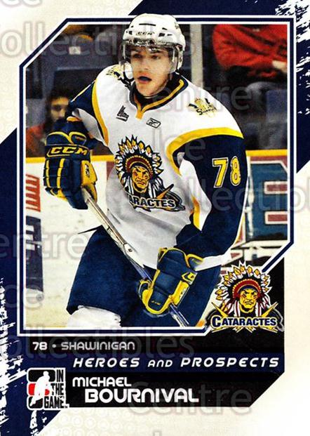 2010-11 ITG Heroes and Prospects #44 Michael Bournival<br/>21 In Stock - $1.00 each - <a href=https://centericecollectibles.foxycart.com/cart?name=2010-11%20ITG%20Heroes%20and%20Prospects%20%2344%20Michael%20Bourniv...&quantity_max=21&price=$1.00&code=283123 class=foxycart> Buy it now! </a>