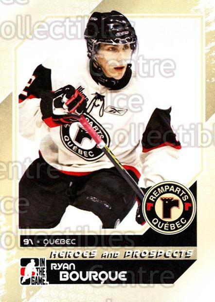 2010-11 ITG Heroes and Prospects #45 Ryan Bourque<br/>21 In Stock - $1.00 each - <a href=https://centericecollectibles.foxycart.com/cart?name=2010-11%20ITG%20Heroes%20and%20Prospects%20%2345%20Ryan%20Bourque...&price=$1.00&code=283124 class=foxycart> Buy it now! </a>