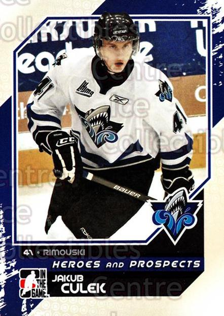 2010-11 ITG Heroes and Prospects #47 Jakub Culek<br/>23 In Stock - $1.00 each - <a href=https://centericecollectibles.foxycart.com/cart?name=2010-11%20ITG%20Heroes%20and%20Prospects%20%2347%20Jakub%20Culek...&quantity_max=23&price=$1.00&code=283126 class=foxycart> Buy it now! </a>