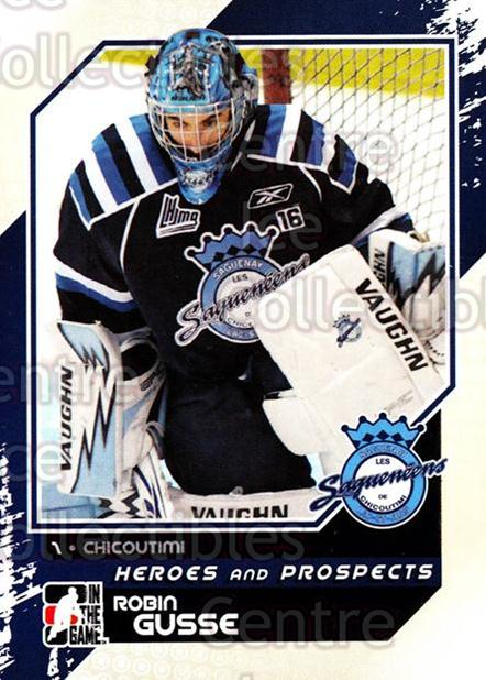2010-11 ITG Heroes and Prospects #49 Robin Gusse<br/>26 In Stock - $1.00 each - <a href=https://centericecollectibles.foxycart.com/cart?name=2010-11%20ITG%20Heroes%20and%20Prospects%20%2349%20Robin%20Gusse...&price=$1.00&code=283128 class=foxycart> Buy it now! </a>