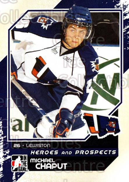 2010-11 ITG Heroes and Prospects #52 Michael Chaput<br/>18 In Stock - $1.00 each - <a href=https://centericecollectibles.foxycart.com/cart?name=2010-11%20ITG%20Heroes%20and%20Prospects%20%2352%20Michael%20Chaput...&quantity_max=18&price=$1.00&code=283131 class=foxycart> Buy it now! </a>