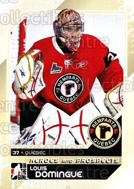 2010-11 ITG Heroes and Prospects #56 Louis Domingue<br/>22 In Stock - $1.00 each - <a href=https://centericecollectibles.foxycart.com/cart?name=2010-11%20ITG%20Heroes%20and%20Prospects%20%2356%20Louis%20Domingue...&price=$1.00&code=283135 class=foxycart> Buy it now! </a>
