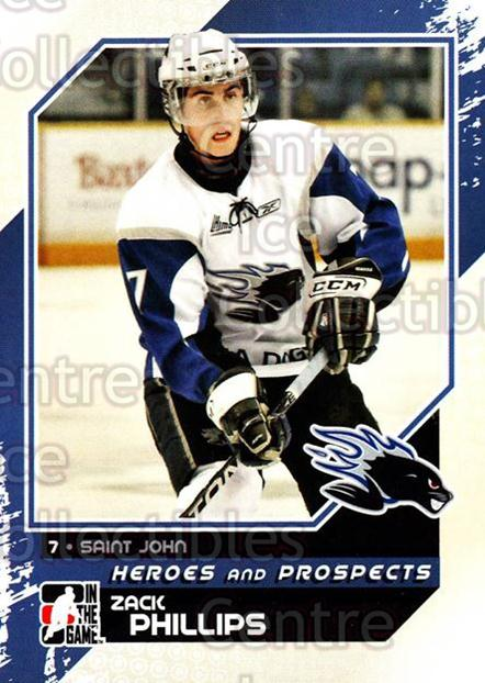 2010-11 ITG Heroes and Prospects #58 Zack Phillips<br/>20 In Stock - $1.00 each - <a href=https://centericecollectibles.foxycart.com/cart?name=2010-11%20ITG%20Heroes%20and%20Prospects%20%2358%20Zack%20Phillips...&quantity_max=20&price=$1.00&code=283137 class=foxycart> Buy it now! </a>