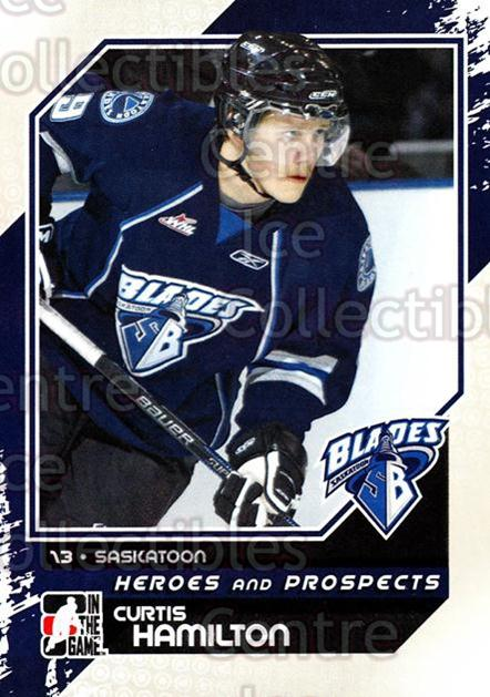 2010-11 ITG Heroes and Prospects #64 Curtis Hamilton<br/>17 In Stock - $1.00 each - <a href=https://centericecollectibles.foxycart.com/cart?name=2010-11%20ITG%20Heroes%20and%20Prospects%20%2364%20Curtis%20Hamilton...&quantity_max=17&price=$1.00&code=283143 class=foxycart> Buy it now! </a>
