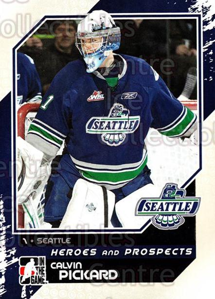 2010-11 ITG Heroes and Prospects #66 Calvin Pickard<br/>22 In Stock - $1.00 each - <a href=https://centericecollectibles.foxycart.com/cart?name=2010-11%20ITG%20Heroes%20and%20Prospects%20%2366%20Calvin%20Pickard...&price=$1.00&code=283145 class=foxycart> Buy it now! </a>