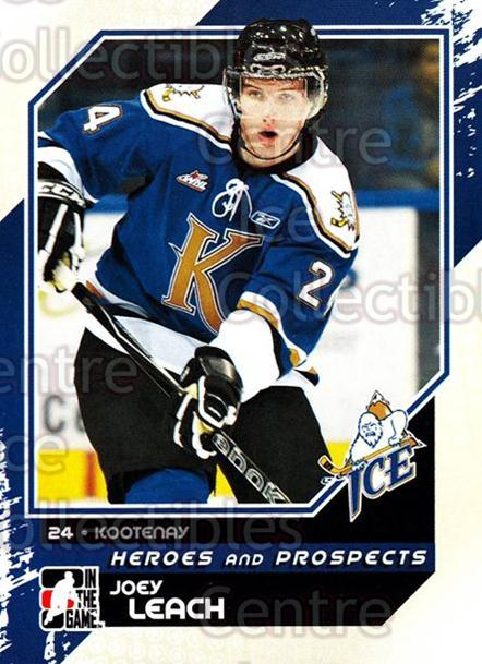 2010-11 ITG Heroes and Prospects #67 Joey Leach<br/>20 In Stock - $1.00 each - <a href=https://centericecollectibles.foxycart.com/cart?name=2010-11%20ITG%20Heroes%20and%20Prospects%20%2367%20Joey%20Leach...&quantity_max=20&price=$1.00&code=283146 class=foxycart> Buy it now! </a>