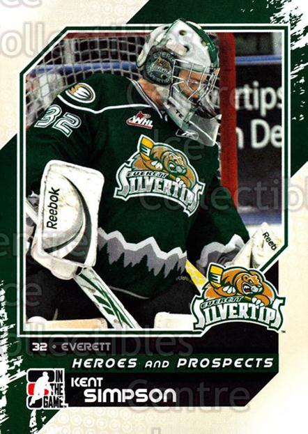 2010-11 ITG Heroes and Prospects #82 Kent Simpson<br/>21 In Stock - $1.00 each - <a href=https://centericecollectibles.foxycart.com/cart?name=2010-11%20ITG%20Heroes%20and%20Prospects%20%2382%20Kent%20Simpson...&price=$1.00&code=283161 class=foxycart> Buy it now! </a>