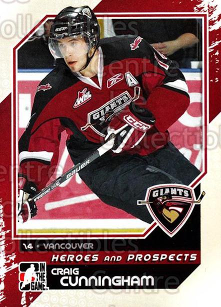 2010-11 ITG Heroes and Prospects #85 Craig Cunningham<br/>18 In Stock - $1.00 each - <a href=https://centericecollectibles.foxycart.com/cart?name=2010-11%20ITG%20Heroes%20and%20Prospects%20%2385%20Craig%20Cunningha...&quantity_max=18&price=$1.00&code=283164 class=foxycart> Buy it now! </a>