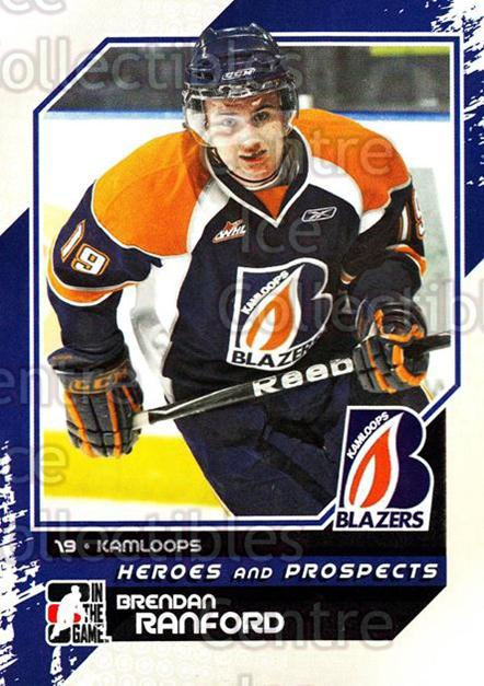 2010-11 ITG Heroes and Prospects #86 Brendan Ranford<br/>20 In Stock - $1.00 each - <a href=https://centericecollectibles.foxycart.com/cart?name=2010-11%20ITG%20Heroes%20and%20Prospects%20%2386%20Brendan%20Ranford...&quantity_max=20&price=$1.00&code=283165 class=foxycart> Buy it now! </a>