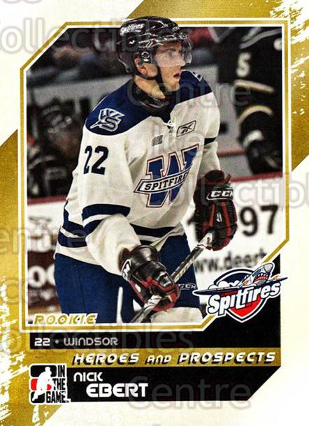 2010-11 ITG Heroes and Prospects #95 Nick Ebert<br/>23 In Stock - $1.00 each - <a href=https://centericecollectibles.foxycart.com/cart?name=2010-11%20ITG%20Heroes%20and%20Prospects%20%2395%20Nick%20Ebert...&quantity_max=23&price=$1.00&code=283174 class=foxycart> Buy it now! </a>