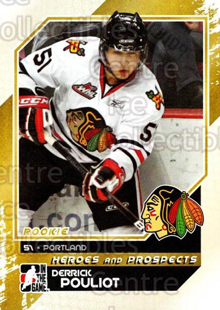 2010-11 ITG Heroes and Prospects #99 Derrick Pouliot<br/>20 In Stock - $1.00 each - <a href=https://centericecollectibles.foxycart.com/cart?name=2010-11%20ITG%20Heroes%20and%20Prospects%20%2399%20Derrick%20Pouliot...&quantity_max=20&price=$1.00&code=283178 class=foxycart> Buy it now! </a>