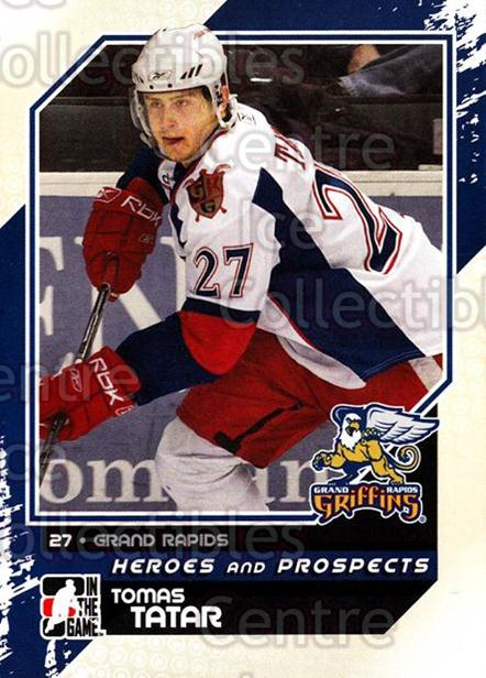 2010-11 ITG Heroes and Prospects #103 Tomas Tatar<br/>18 In Stock - $1.00 each - <a href=https://centericecollectibles.foxycart.com/cart?name=2010-11%20ITG%20Heroes%20and%20Prospects%20%23103%20Tomas%20Tatar...&quantity_max=18&price=$1.00&code=283182 class=foxycart> Buy it now! </a>