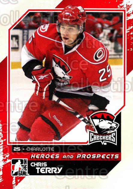 2010-11 ITG Heroes and Prospects #104 Chris Terry<br/>22 In Stock - $1.00 each - <a href=https://centericecollectibles.foxycart.com/cart?name=2010-11%20ITG%20Heroes%20and%20Prospects%20%23104%20Chris%20Terry...&quantity_max=22&price=$1.00&code=283183 class=foxycart> Buy it now! </a>