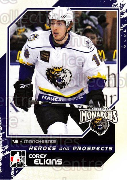 2010-11 ITG Heroes and Prospects #123 Corey Elkins<br/>26 In Stock - $1.00 each - <a href=https://centericecollectibles.foxycart.com/cart?name=2010-11%20ITG%20Heroes%20and%20Prospects%20%23123%20Corey%20Elkins...&quantity_max=26&price=$1.00&code=283202 class=foxycart> Buy it now! </a>