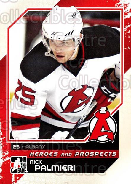 2010-11 ITG Heroes and Prospects #129 Nick Palmieri<br/>18 In Stock - $1.00 each - <a href=https://centericecollectibles.foxycart.com/cart?name=2010-11%20ITG%20Heroes%20and%20Prospects%20%23129%20Nick%20Palmieri...&quantity_max=18&price=$1.00&code=283208 class=foxycart> Buy it now! </a>