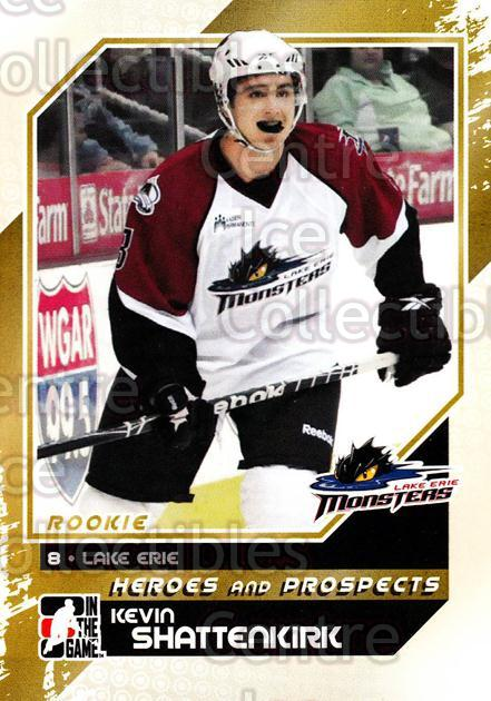 2010-11 ITG Heroes and Prospects #142 Kevin Shattenkirk<br/>24 In Stock - $1.00 each - <a href=https://centericecollectibles.foxycart.com/cart?name=2010-11%20ITG%20Heroes%20and%20Prospects%20%23142%20Kevin%20Shattenki...&quantity_max=24&price=$1.00&code=283221 class=foxycart> Buy it now! </a>