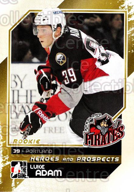 2010-11 ITG Heroes and Prospects #143 Luke Adam<br/>17 In Stock - $1.00 each - <a href=https://centericecollectibles.foxycart.com/cart?name=2010-11%20ITG%20Heroes%20and%20Prospects%20%23143%20Luke%20Adam...&quantity_max=17&price=$1.00&code=283222 class=foxycart> Buy it now! </a>