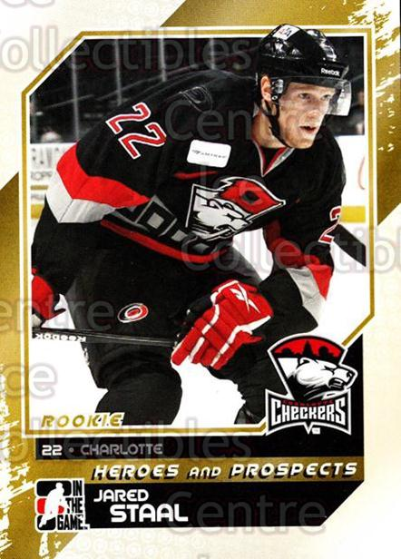 2010-11 ITG Heroes and Prospects #144 Jared Staal<br/>23 In Stock - $1.00 each - <a href=https://centericecollectibles.foxycart.com/cart?name=2010-11%20ITG%20Heroes%20and%20Prospects%20%23144%20Jared%20Staal...&quantity_max=23&price=$1.00&code=283223 class=foxycart> Buy it now! </a>