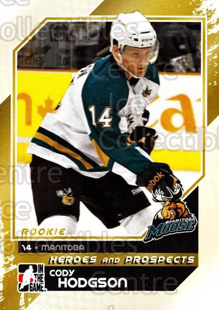 2010-11 ITG Heroes and Prospects #146 Cody Hodgson<br/>24 In Stock - $1.00 each - <a href=https://centericecollectibles.foxycart.com/cart?name=2010-11%20ITG%20Heroes%20and%20Prospects%20%23146%20Cody%20Hodgson...&quantity_max=24&price=$1.00&code=283225 class=foxycart> Buy it now! </a>