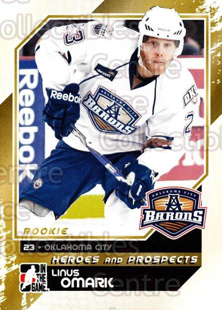 2010-11 ITG Heroes and Prospects #147 Linus Omark<br/>25 In Stock - $2.00 each - <a href=https://centericecollectibles.foxycart.com/cart?name=2010-11%20ITG%20Heroes%20and%20Prospects%20%23147%20Linus%20Omark...&quantity_max=25&price=$2.00&code=283226 class=foxycart> Buy it now! </a>