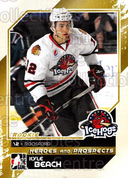 2010-11 ITG Heroes and Prospects #148 Kyle Beach<br/>22 In Stock - $1.00 each - <a href=https://centericecollectibles.foxycart.com/cart?name=2010-11%20ITG%20Heroes%20and%20Prospects%20%23148%20Kyle%20Beach...&quantity_max=22&price=$1.00&code=283227 class=foxycart> Buy it now! </a>