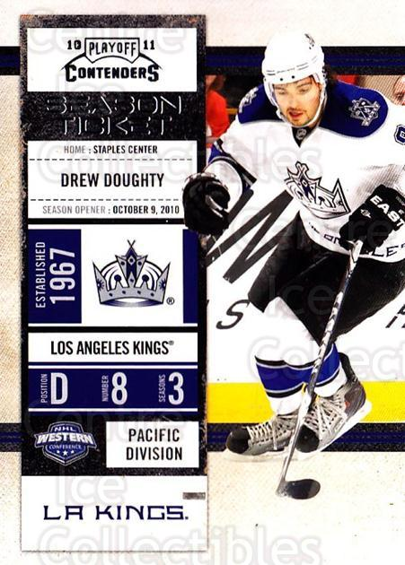 2010-11 Panini Contenders #9 Drew Doughty<br/>3 In Stock - $1.00 each - <a href=https://centericecollectibles.foxycart.com/cart?name=2010-11%20Panini%20Contenders%20%239%20Drew%20Doughty...&quantity_max=3&price=$1.00&code=283293 class=foxycart> Buy it now! </a>