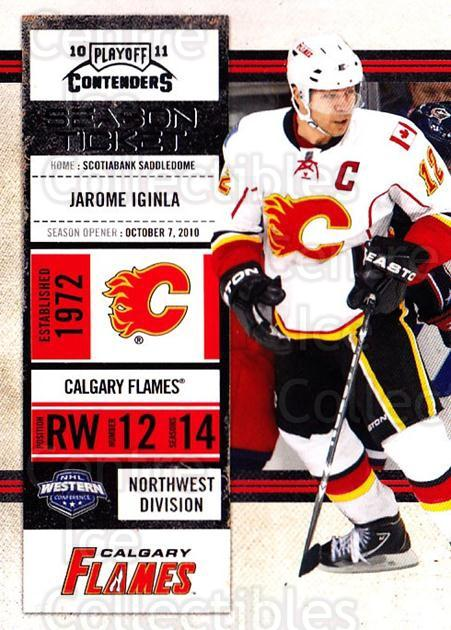 2010-11 Panini Contenders #43 Jarome Iginla<br/>3 In Stock - $1.00 each - <a href=https://centericecollectibles.foxycart.com/cart?name=2010-11%20Panini%20Contenders%20%2343%20Jarome%20Iginla...&quantity_max=3&price=$1.00&code=283327 class=foxycart> Buy it now! </a>