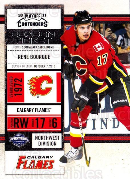 2010-11 Panini Contenders #83 Rene Bourque<br/>1 In Stock - $1.00 each - <a href=https://centericecollectibles.foxycart.com/cart?name=2010-11%20Panini%20Contenders%20%2383%20Rene%20Bourque...&quantity_max=1&price=$1.00&code=283367 class=foxycart> Buy it now! </a>