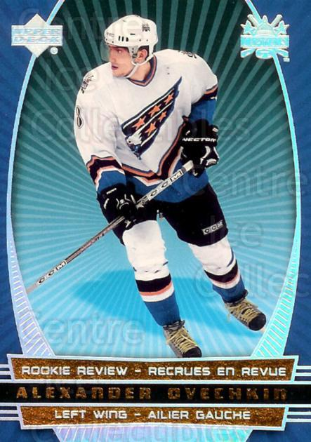 2006-07 McDonald's Upper Deck Rookie Review #2 Alexander Ovechkin<br/>1 In Stock - $5.00 each - <a href=https://centericecollectibles.foxycart.com/cart?name=2006-07%20McDonald's%20Upper%20Deck%20Rookie%20Review%20%232%20Alexander%20Ovech...&price=$5.00&code=283385 class=foxycart> Buy it now! </a>