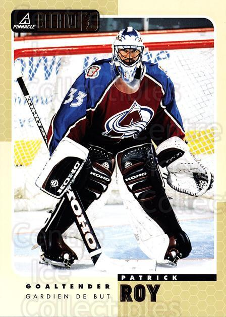 1997-98 Beehive #19 Patrick Roy<br/>1 In Stock - $5.00 each - <a href=https://centericecollectibles.foxycart.com/cart?name=1997-98%20Beehive%20%2319%20Patrick%20Roy...&quantity_max=1&price=$5.00&code=283607 class=foxycart> Buy it now! </a>