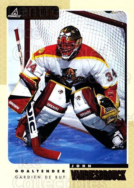 1997-98 Beehive #27 John Vanbiesbrouck<br/>5 In Stock - $3.00 each - <a href=https://centericecollectibles.foxycart.com/cart?name=1997-98%20Beehive%20%2327%20John%20Vanbiesbro...&quantity_max=5&price=$3.00&code=283615 class=foxycart> Buy it now! </a>