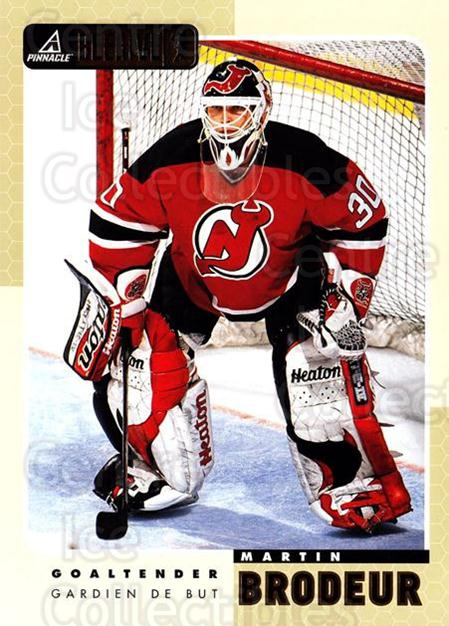 1997-98 Beehive #45 Martin Brodeur<br/>2 In Stock - $3.00 each - <a href=https://centericecollectibles.foxycart.com/cart?name=1997-98%20Beehive%20%2345%20Martin%20Brodeur...&quantity_max=2&price=$3.00&code=283633 class=foxycart> Buy it now! </a>