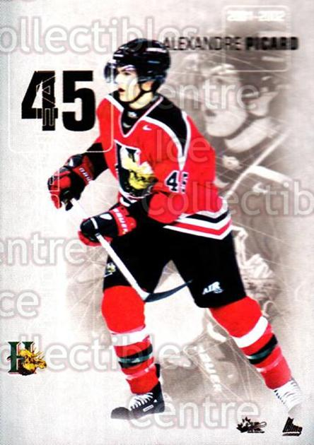 2001-02 Halifax Mooseheads #18 Alexandre Picard<br/>2 In Stock - $3.00 each - <a href=https://centericecollectibles.foxycart.com/cart?name=2001-02%20Halifax%20Mooseheads%20%2318%20Alexandre%20Picar...&quantity_max=2&price=$3.00&code=283693 class=foxycart> Buy it now! </a>