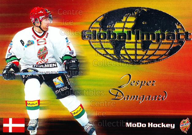 2003-04 Swedish Elitset Global Impact #10 Jesper Damgaard<br/>2 In Stock - $3.00 each - <a href=https://centericecollectibles.foxycart.com/cart?name=2003-04%20Swedish%20Elitset%20Global%20Impact%20%2310%20Jesper%20Damgaard...&quantity_max=2&price=$3.00&code=286768 class=foxycart> Buy it now! </a>