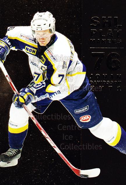 2005-06 Swedish Elitset SHL Play Makers #7 Johan Davidsson<br/>2 In Stock - $3.00 each - <a href=https://centericecollectibles.foxycart.com/cart?name=2005-06%20Swedish%20Elitset%20SHL%20Play%20Makers%20%237%20Johan%20Davidsson...&price=$3.00&code=286873 class=foxycart> Buy it now! </a>